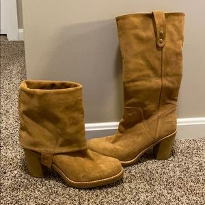 Ugg suede boots